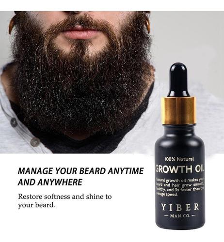 aceite hidratante acelerador de crecimiento de tu barba