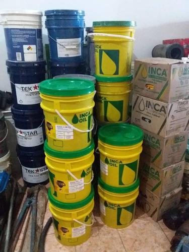 aceite inca 15w40, 20w50, 2t, hidráulico, diesel 50 y 15w40