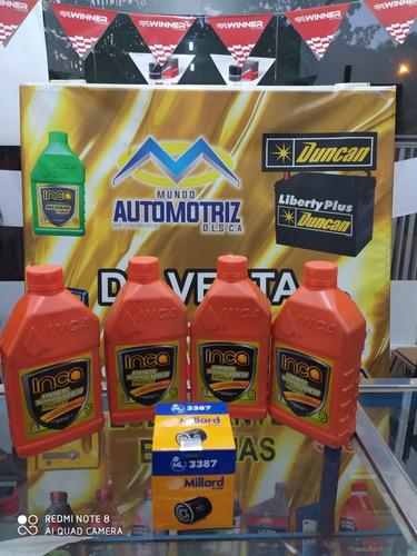 aceite inca semisintetico 15w40 y 20w50 oferta.