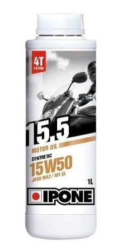 aceite ipone 15.5 semi-sintetico 15w50 synthetic - cuotas