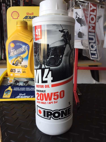 aceite ipone 20w50