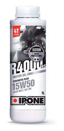 aceite ipone r4000 rs 15w50 semi sintetico - cuotas