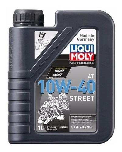 aceite liqui moly 10w40 4t moto street 1 lt