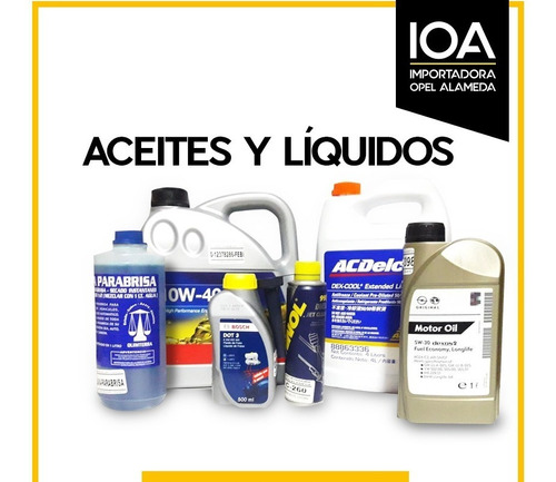 aceite / lubricante acdelco 10w40 4 litros