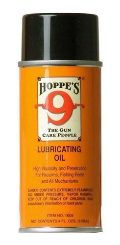 aceite lubricante hoppe's en spray alta viscosidad y penetra