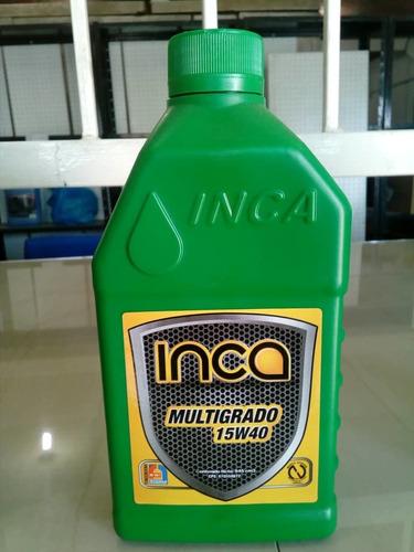 aceite mineral 15w40 20w50 inca sellado oferta guanire 4$