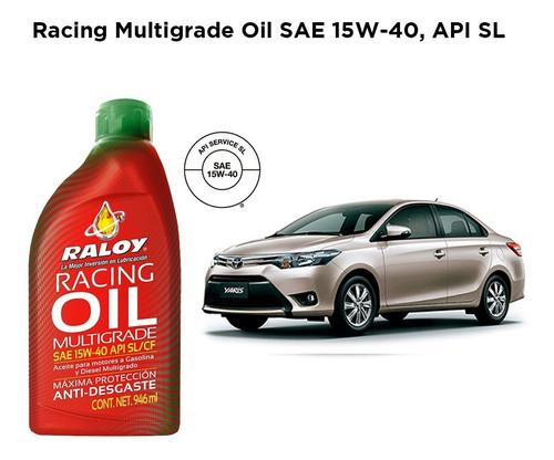 aceite mineral 15w40 raloy tienda oficial api sl