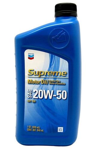 aceite mineral 20w50 chevron y shell importado