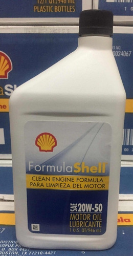 aceite mineral formula shell