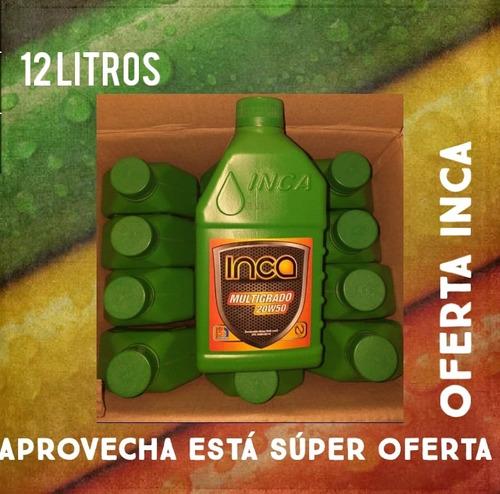 aceite mineral inca 15w40 y 20w50 oferta detal y cajas