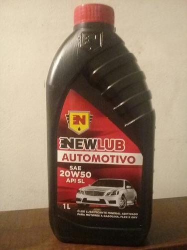 aceite mineral sellado newlub 20w50