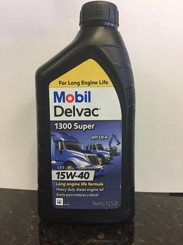 aceite mobil delvac 15 w 40 para + 10.000 km