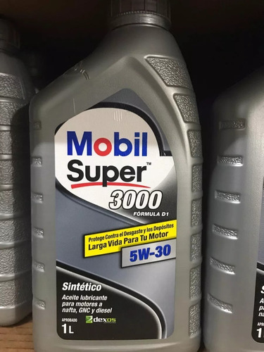 aceite mobil super 3000 5w30 normas dexos 1 gm chrysler 1 l