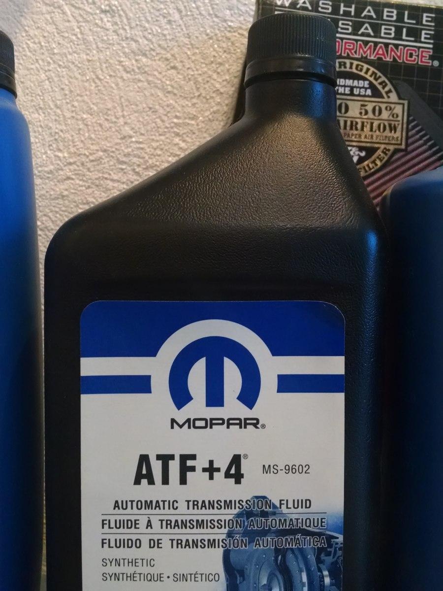 Aceite Mopar Atf4 Atf 4 Sintetico 1qt Transmision Dodge