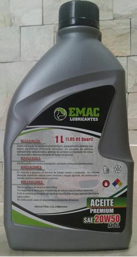 aceite moto 2t emac