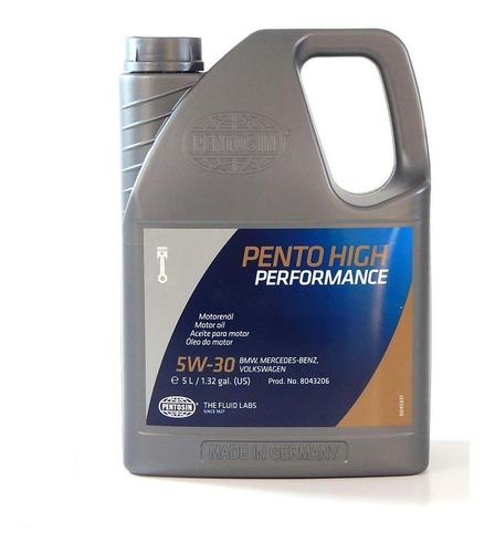 aceite motor 100% sintetico aleman 5w-30 pentosin 5 lts