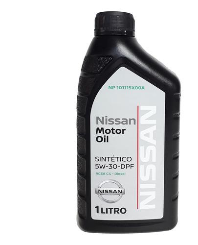 aceite motor 5w30 np300 dpf 1lt original nissan