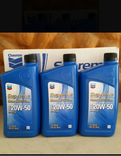 aceite motor gasolina mineral 20/50