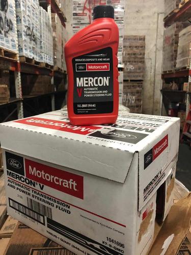 aceite motorcraft mercon v ford (78 x caja 12lt)