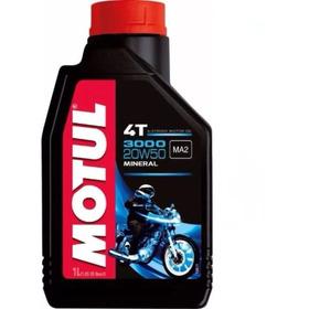 Aceite Motul 3000 20w50 4t  Moto 100%original