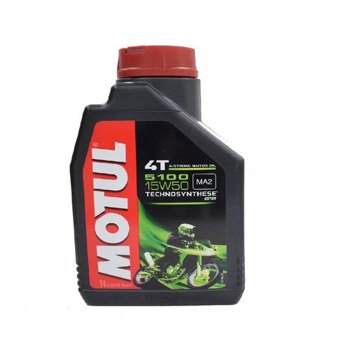 aceite motul 5100 15w50 4t semi sintético