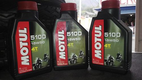 aceite motul 5100 4t ester para moto de alta cilindrada