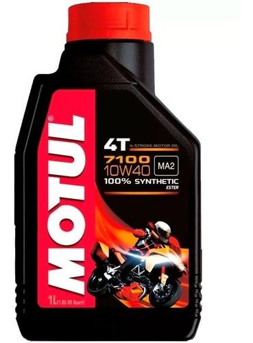 aceite motul 7100 4t 10w40 100% sintetico sti motos