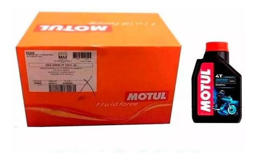 aceite motul para motos 3000 20w50 4t original