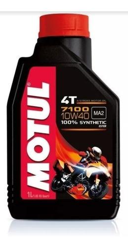aceite motul sintético 4t 7100 10w40