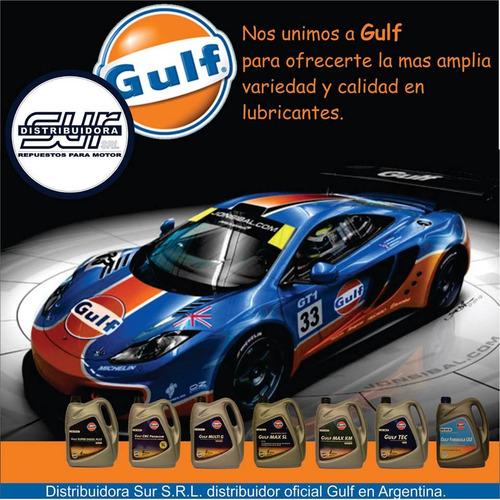 aceite multigrado gulf max km 25w60 4 litros alto km