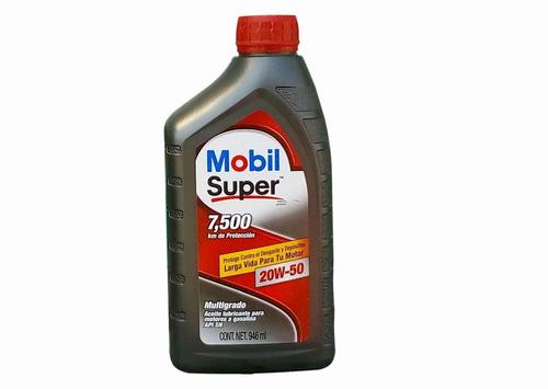 aceite multigrado mobil 20w50 dodge challenger srt 392 2015