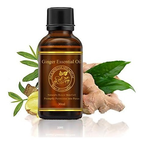 aceite natural de aceite de jengibre masaje aceite de fregar