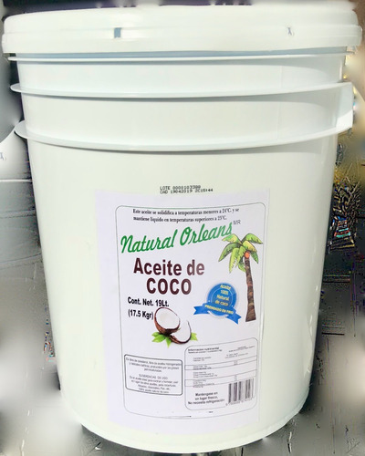 aceite natural de coco extraido en frio envio gratis