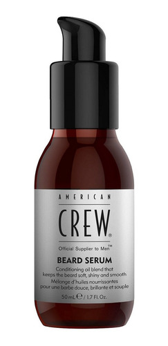 aceite para barba beard serum american crew men