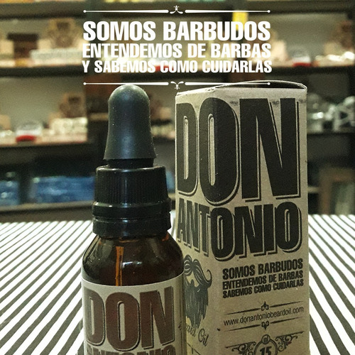 aceite para barba don antonio beard oil // the neutral