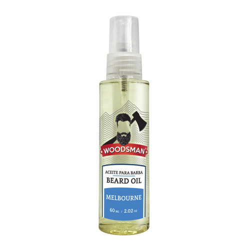 aceite para barba y bigote woodsman 60 ml (melbourne)