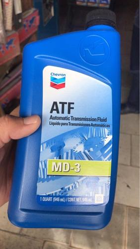 aceite para caja automatica dexron 3 chevron atf
