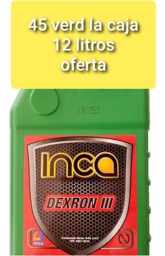 aceite para caja automaticas dexron3 inca oferta