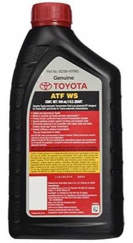 aceite para caja toyota atf ws