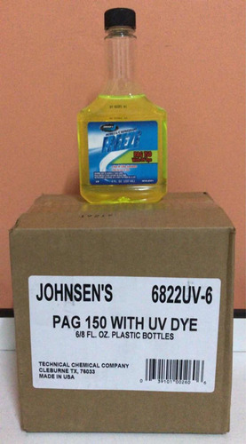 aceite para compresor 134a freeze pag 150-100-46 uv