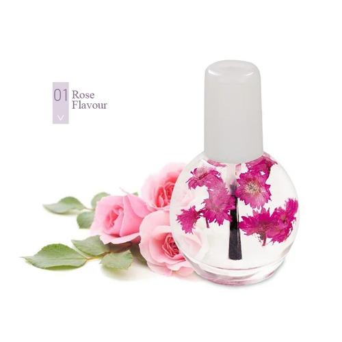 aceite para cutícula con extracto natural de rosas