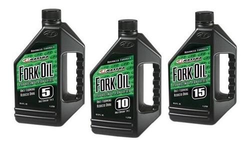 aceite para horquilla maxima fork oil 5, 10 o 15 473 ml.