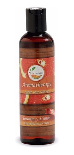 aceite para masaje aromaterapia - varios aromas 125 ml.