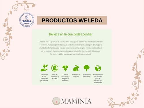 aceite para masaje para estrías weleda pregnancy oil  vegano