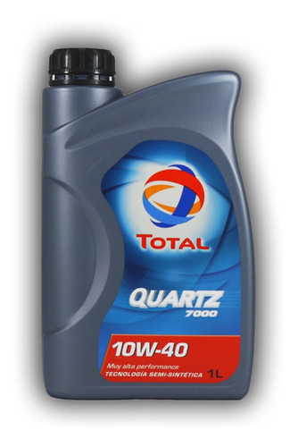 aceite para motor total quartz diesel 7000 10w40 1 litro
