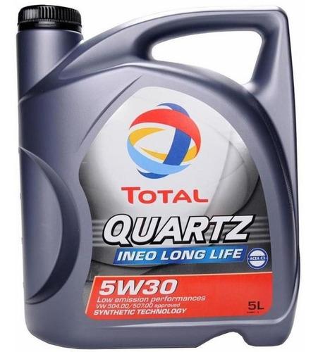 aceite para motor total quartz ineo long life 5w30  5 litros