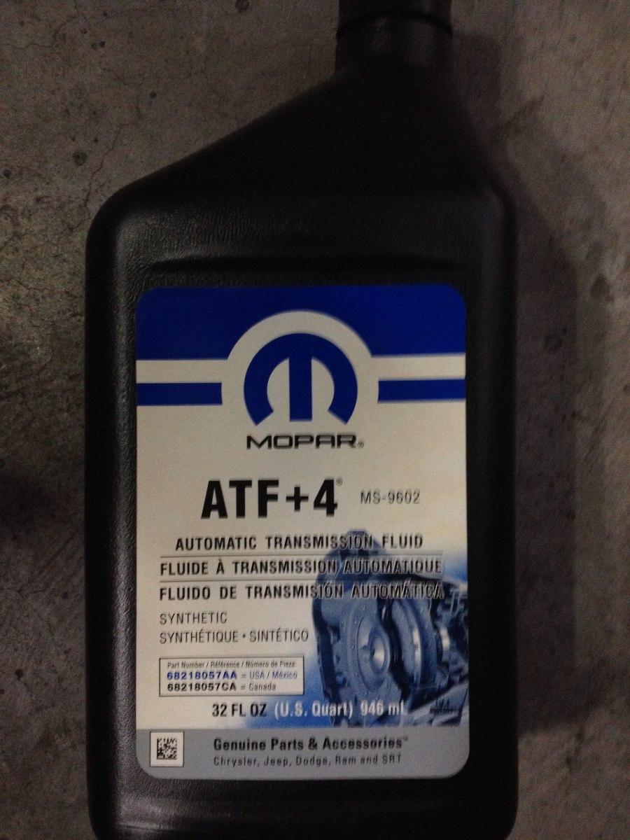 Aceite Para Transmision Automatica Atf 4 Mopar 5013457aa