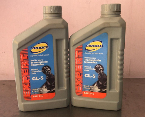 aceite para transmision sincro valvulina gl-5 venoco sae 140