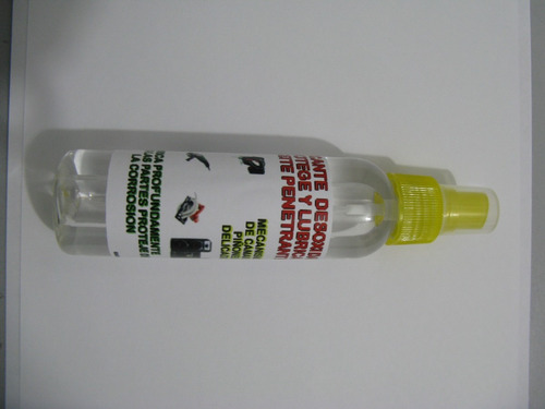 aceite penetrante lubrica piezas delicadas mecanismos camara