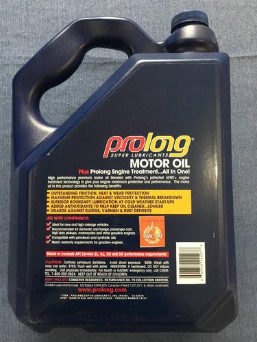 aceite prolong supreme 5l